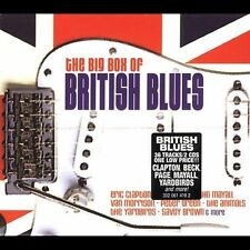 Various Artists, Big Box of British Blues, Excellent Original recording remaster
