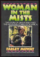Woman In The Mists Book Dian Fossey Mountain Gorillas