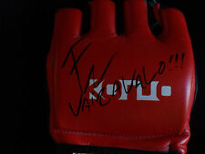 Fabricio Werdum Autographed MMA Fighting Glove