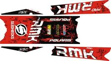 POLARIS RUSH PRO RMK  ASSAULT 144 155 163 STAR TOP & TUNNEL DECAL STICKER red