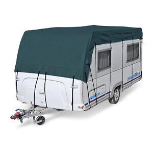 Schutzdach für Wohnmobil & Wohnwagen   10 x 3 m   vierlagig   wintertauglich