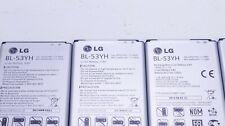 Lot Of 9 Used Oem Lg Bl-53Yh 3000mAh 3.8V Li-Ion Batteries