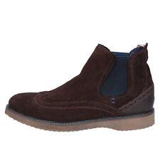 scarpe uomo WRANGLER 40 EU stivaletti marrone camoscio BX308