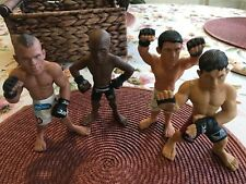 UFC MMA action figures great for display in Man Cave