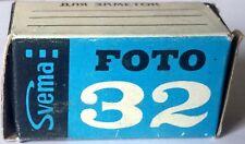 1x roll Black & White свема фото 32 Svema foto 32 USSR película 120 Print rare!