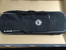 Yuneec E-GO2 Electric Longboard Skateboard Backpack - Black & White