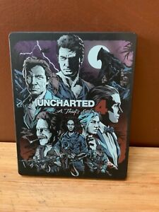 PS4 Official Uncharted 4: A Thief's End Steelbook Case