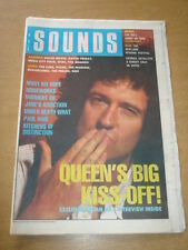 SOUNDS 1989 MAY 13 QUEEN BRIAN MAY MIDNIGHT OIL JANE'S ADDICTION BOWIE CURE REM