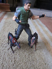 Resident Evil STARS action figure plus 2 Zombie Dogs