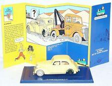 TINTIN Hergé 1:43 AMILCAR 1938 Atlas Comic Book TV Figures Model Car 039 MIB!