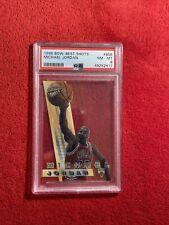 1996-97 Bowman Best Shots Michael Jordan #BS6 PSA 8 Bulls