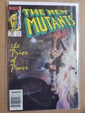 NEW MUTANTS #25 Comics 1st Appearance of Legion Movie TV Newsstand Sienkiewicz