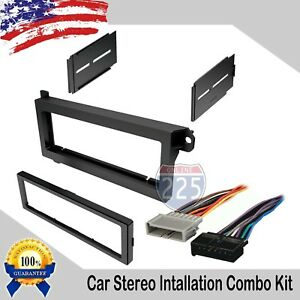 Car Radio Stereo Dash Install Kit Harness 1974-2003 Chrysler Plymouth Dodge Jeep