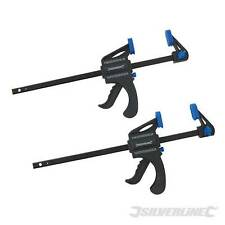 Mini Clamps 2pk 150mm Woodwork Quick Clamps
