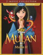 MULAN / MULAN 2 - 2-MOVIE COLLECTION - BLU RAY - Region free  - Sealed