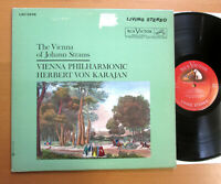 LSC-2538 Vienna Of Johann Strauss Karajan RCA Living Stereo Shaded Dog Canada