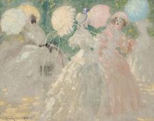 Icart Louis The Umbrellas Canvas 16 x 20  #3031