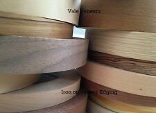 Iron on Edging Tape/Banding Wood Veneer Edging Strip 22mm 30mm 40mm 50mm