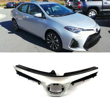 For 2017 2018 2019 Toyota Corolla SE XSE Sedan Front Grill Grille Pearl White