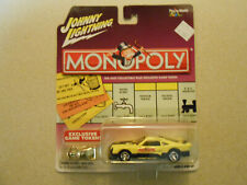 2002 Johnny Lightning Monopoly 1975 Ford Mustang Cobra II Racer  1:64 Scale NEW