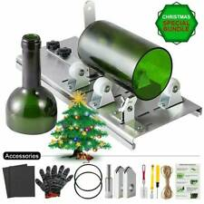 Glass Bottle Cutter Kit, Bottle Cutter DIY for Cutting Round Square 10p Machine#
