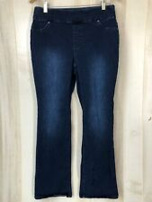 Chicos Women's Perfect Stretch Jeans Size 0.5 US 6 Pull On Elastic Comfy