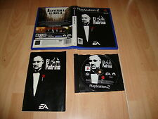 EL PADRINO DE EA GAMES PARA LA SONY PLAY STATION 2 PS2 USADO COMPLETO