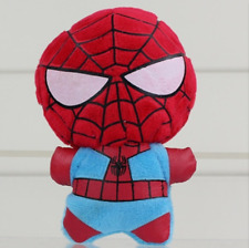 Spider-Man Stuffed Animal Iron Man Superman Cartoon Animal Plush Doll Toys 11cm