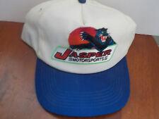 Jasper Motorsports NASCAR Tan adjustable driver hat cap