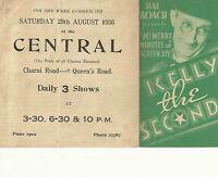 LOT OF 6 DIFFERENT ORIGINAL PRESSBOOK HERALDS FROM PRE-1940 FILMS
