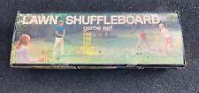 LAWN SHUFFLEBOARD Eagle Rubber Company GAME Vintage NOS