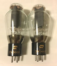 Matched Pair Svetlana Electron Devices (SED) 300B tube, NOS from 1998, Brand New