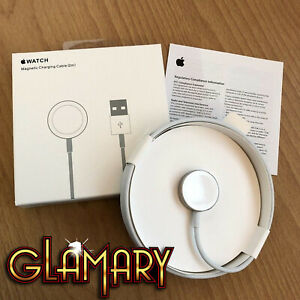 GENUINE APPLE WATCH MAGNETIC CHARGING CABLE CHARGER FOR iWATCH 1/2/3/4 SERIES