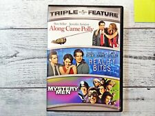 New listing Along Came Polly/Reality Bites/Mystery Men (Dvd 2008 3-Disc Set) Triple Feature!