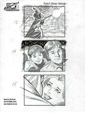 ALEX SAVIUK Hand Drawn Disney MGM Studios TV Spot Commercial Storyboard Page #MS