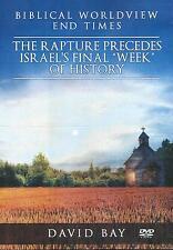 "RAPTURE PRECEDES ISRAEL'S FINAL ""WEEK"" OF HISTORY - DVD by David Bay **NEW**"
