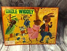 Vintage Milton Bradley tray puzzle 1962 4508-X3 Uncle Wiggily Aptitude Tested