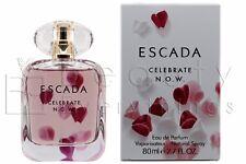Escada Celebrate Now 2.7oz / 80ml Eau De Parfum Spray NIB Sealed For Women