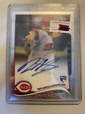 A11,629 - 2014 Topps Chrome Rookie Autographs #134 David Holmberg