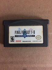 Final Fantasy 1 & 2 Dawn of Souls - GameBoy Advance