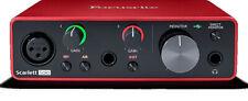 Focusrite Scarlett Solo 3rd Gen Usb Computer Audio Recording Interface