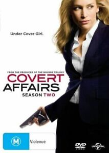 Covert Affairs Complete Season Two Series 2 TV Show DVD NEW Piper Perabo Action