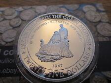 1994 Jamaïque Argent Reproduction Vingt-cinq Dollars Pièce De Couronne La Reine