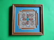 Diane Thomas NAVAJO INDIAN NM Sand Painting Southwestern