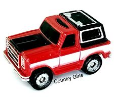 Micro Machine Chevy Blazer  Chevrolet Truck Sport Utility Red Car Truck Vehicle