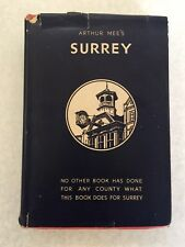 Arthur Mee's Surrey London's Southern Neighbour The King's England 1945