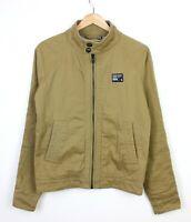 Superdry Commodity Edition Beige Harrington Zip Up Jacket - S
