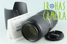 Tamron SP 70-300mm F/4-5.6 Di VC USD Lens for Canon #32344 F5