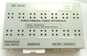 Video Interface GVIF for Land Rover Discovery 3 2005~ Range Rover LR3, HSE,LR2