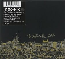 JOSEF K - THE ONLY FUN IN TOWN/SORRY FOR LAUGHING  CD Neuf